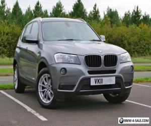 2011/11 BMW X3 XDRIVE 20D SE 2.0 DIESEL AUTO 4X4 - SPACE GREY - SADDLE LEATHER for Sale
