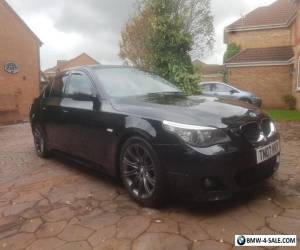 bmw 520d m sport no swap or px NOT damaged cat  525 530 535 for Sale