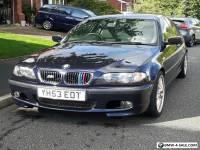 320i BMW e46 2.2ltr V6 m-sport saloon 2003