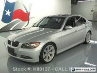 2008 BMW 3-Series 335I SEDAN SPORT PREMIUM SUNROOF HTD SEATS