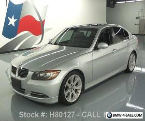 2008 BMW 3-Series 335I SEDAN SPORT PREMIUM SUNROOF HTD SEATS for Sale