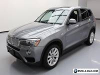 2017 BMW X3 sDrive28i Sport Utility 4-Door