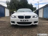 Bmw BMW 3 Series 320I M-Sport in White / Red Leather