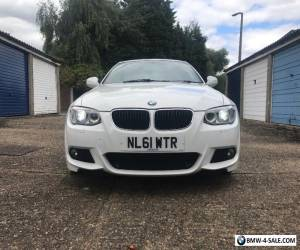 Bmw BMW 3 Series 320I M-Sport in White / Red Leather  for Sale