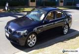 BMW 540i, like new, 31,000 km. Lifetime bargain. $26,500 for Sale