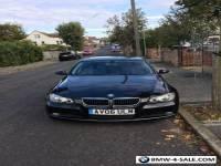 BMW, Black 3 series