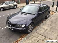 BMW 318i SE manual with long mot 2001 E46 model