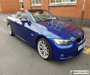 2008 BMW 320i M SPORT HIGHLINE CONVERTIBLE AUTO  XENONS LEATHER 19 INCH ALLOYS for Sale