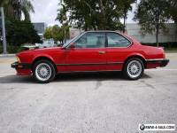 1987 BMW M6 M6 2dr Coupe