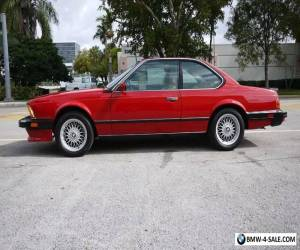 1987 BMW M6 M6 2dr Coupe for Sale