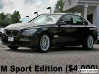 2015 BMW 7-Series 740Ld xDrive M Sport Edition