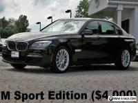 2015 BMW 7-Series 740Ld xDrive M Sport Edition