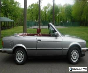 1987 BMW 3-Series Convertable for Sale