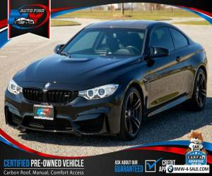 2016 BMW M4 6 SPEED MANUAL, CARBON ROOF & DASH, HEATED SEATS for Sale
