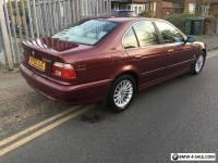 2002 BMW 525i SE E39 RED MANUAL RARE