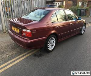 2002 BMW 525i SE E39 RED MANUAL RARE for Sale