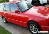 1993 BMW 5-Series 525I E34 Touring Wagon Red for Sale