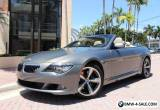2008 BMW 6-Series 650i for Sale