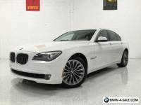 2011 BMW 7-Series 750i 1 OWNER! LUX SEATING PKG! PREM SOUND PKG! NAV!