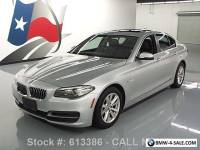 2014 BMW 5-Series 528I XDRIVE AWD SUNROOF NAV HTD LEATHER
