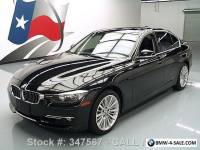 2012 BMW 3-Series 328I LUXURY LINE TECH PKG SUNROOF NAV HUD