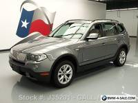 2010 BMW X3 XDRIVE30I AWD PANO SUNROOF NAVIGATION
