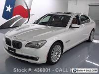 2012 BMW 7-Series 750LI XDRIVE AWD LUX SEAT PKG SUNROOF NAV