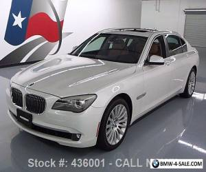2012 BMW 7-Series 750LI XDRIVE AWD LUX SEAT PKG SUNROOF NAV for Sale