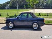 BMW 320i E30 Baur convertible