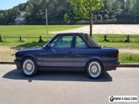 BMW 320i E30 Baur convertible