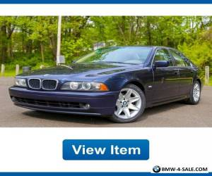 2002 BMW 5-Series for Sale