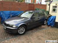 2001 Spares or repair BMW 318i se touring grey auto Leather Starts and drive's