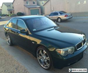 2002 BMW 7-Series 745i for Sale