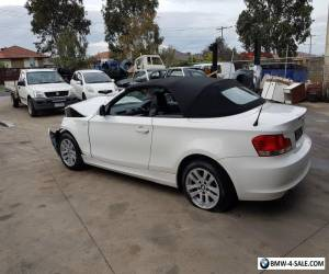 2010 BMW Convertable 120i, 6 speed manual,Damaged,On WOVR for Sale