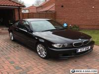 2004(04BMW 320CI M SPORT COUPE.....COSMOS BLACK-GREYLEATHER....STUNNING