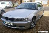 BMW Series 3 2 Litre Coupe M Sport for Sale