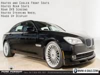 2011 BMW 7-Series Alpina B7 LWB HUD Rear Entertainment Luxury Seating Surround View