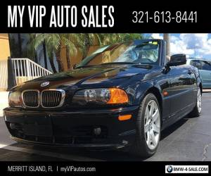 2001 BMW 3-Series for Sale