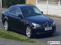 Bmw 525d se blaCK FSH WITH PRIVATE PLATE S25BEM