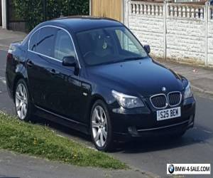 Bmw 525d se blaCK FSH WITH PRIVATE PLATE S25BEM for Sale