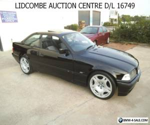 BMW 318 is COUPE 2 DOOR  126000KS BLACK WITH SUN ROOF  for Sale