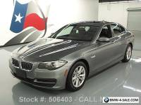 2014 BMW 5-Series 528I SEDAN TURBO AUTO SUNROOF NAVIGATION