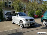 2007 BMW 1 SERIES 2.0 120d M Sport 3dr SILVER, Leather, SatNav, Full BMW Service