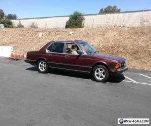 1986 BMW 7-Series 735i for Sale