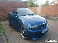 "BMW M3 SMG2 CONVERTIBLE, SATNAV, BLACK LEATHER, 19"" STAGGERED ALLOYS, REMAPED"