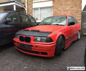 Bmw e36 316i coupe hellrot red for Sale