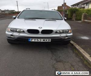 Bmw X5 Auto Sport 3.0, 2003  leather interior in car Dvd player fab family car for Sale