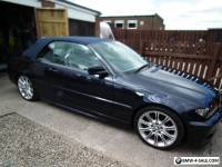 BMW 320cd diesel sports convertible