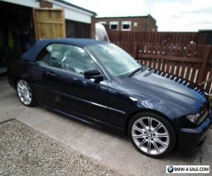 BMW 320cd diesel sports convertible for Sale
