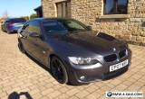 2007 BMW 320i M Sport Coupe grey for Sale